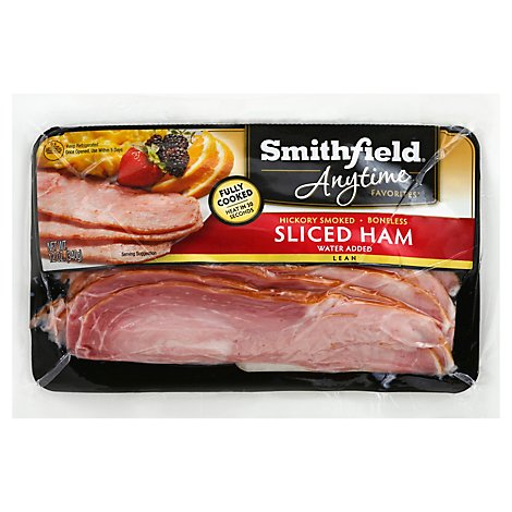 Smithfield Ham Anytime Sliced - 12 Oz
