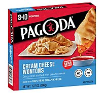 PAGODA Express Cafe Wontons Cream Cheese - 7.27 Oz