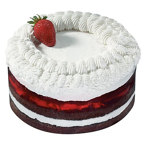 Bakery Cake Strawberry Boston Chocolate Chocolate Ice Nondairy - Each
