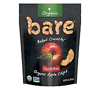 Bare Foods Apple Chips Organic Crunchy Fuji Red - 3 Oz
