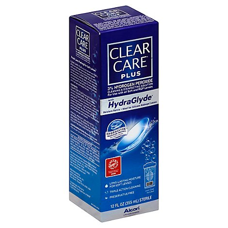 Clear Car Hydroglid With Lens Cp - 12 Oz