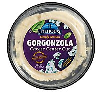 Litehouse Simply Artisan Gorgonzola Cheese Center Cut - 5 Oz.