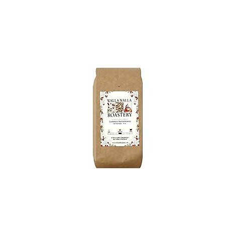 WALLA WALLA ROASTERY Coffee Whole Bean Guatemalan Huehuetenango - 12 Oz