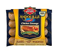 Dietz & Watson All Natural Andouille Chicken Sausage 12 Oz