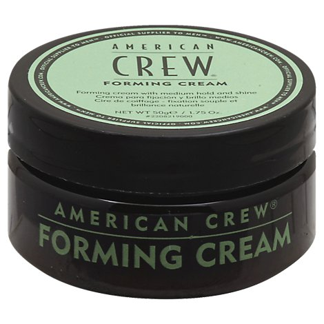 American Crew Forming Cream with Medium Hold and Shine - 1.75 Oz