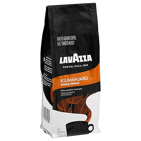 LavAzza Coffee Ground Single Origin Kilimanjaro - 12 Oz