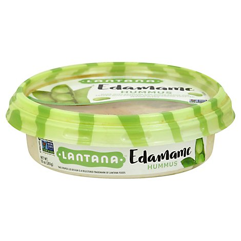 Edamame Hummus With Red Pepper - 10 Oz