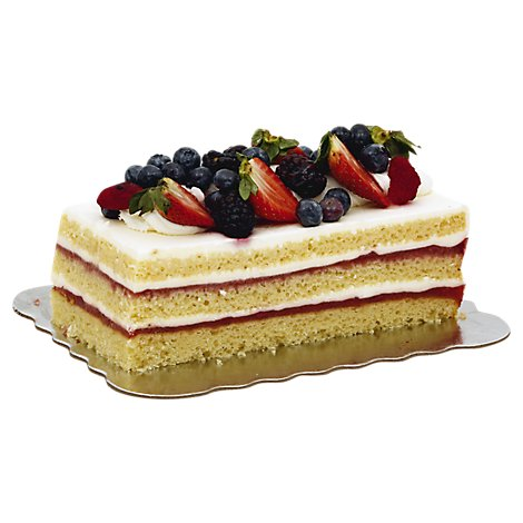 Bakery Cake Cakerie Bar Strawberry Shortcake - Each