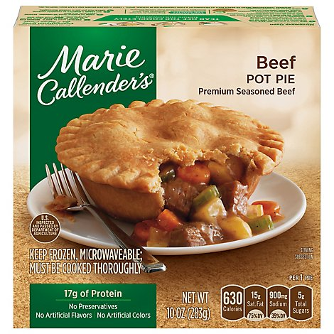 Marie Callenders Pot Pie Beef Small - 10 Oz