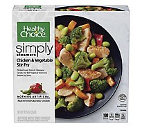 Healthy Choice Cafe Steamers Chicken & Vegetables Stir Fry - 9.25 Oz