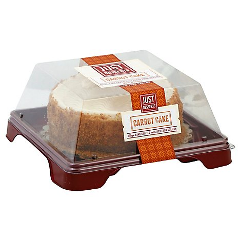Just Desserts Cake Carrot - 24 oz
