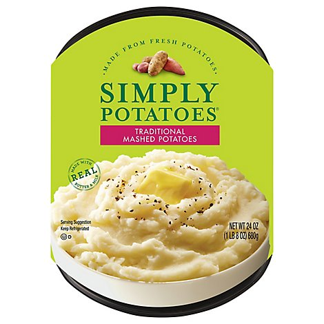 Simply Potatoes Potato Mashed Traditional - 24 Oz