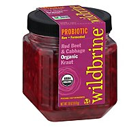 Wildbrine Sauerkraut Salad Red Beet & Cabbage - 18 Oz