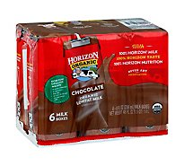 Horizon Organic Milk Lowfat Chocolate - 6-8 Fl. Oz.