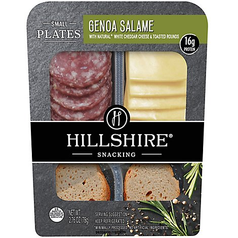 Hillshire Snacking Small Plates Genoa Salame - 2.76 Oz