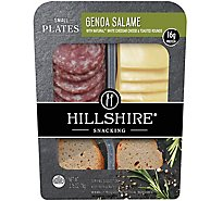 Hillshire Snacking Small Plates Genoa Salame and White Cheddar Cheese - 2.76 Oz