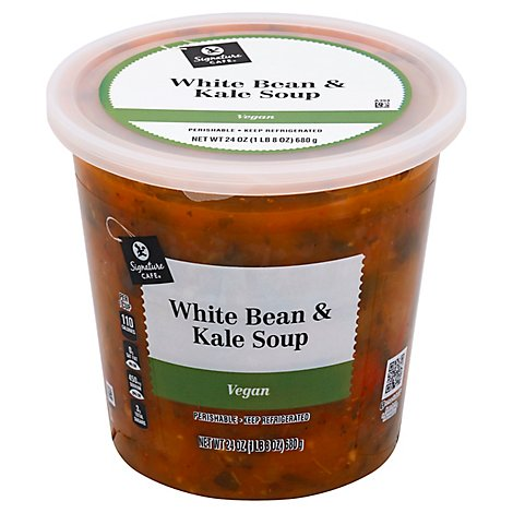 Signature Cafe White Bean & Kale Soup - 24 Oz