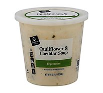 Signature Cafe Soup Cauliflower & Cheddar Creamy - 24 Oz