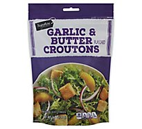 Signature SELECT Croutons Garlic & Butter - 5 Oz