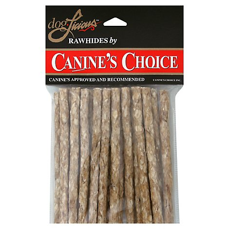 DogLicious Dog Treats Rawhides Munchy Sticks 5 Inch - 20 Count