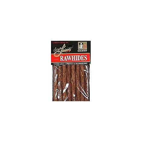 DogLicious Dog Treats Rawhides Chew Sticks Munchy Basted Bag - 8 Count