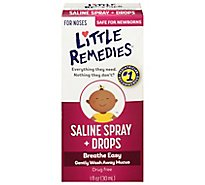 Little Remedies Saline Spray Drops for Noses All Ages - Each