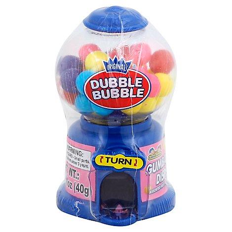 Dubble Bubble Gum Dispenser - Each