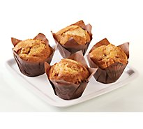Fresh Baked Pumpkin Muffins - 4 Count