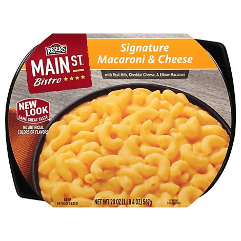 Resers Main St Bistro Macaroni & Cheese Signature - 20 Oz