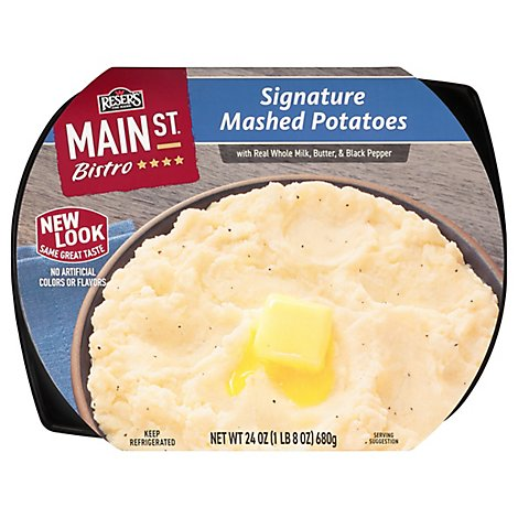 Resers Main St Bistro Mashed Potatoes Signature - 24 Oz