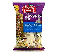 Fresh Express Salad Kit Chopped Bacon & Bleu Greek Yogurt - 8.35 Oz