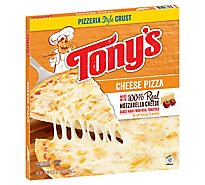 Tonys Pizzeria Pizza Cheese Frozen - 18.9 Oz