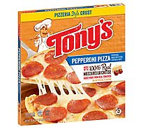 Tonys Pizzeria Pizza Pepperoni Frozen - 18.56 Oz