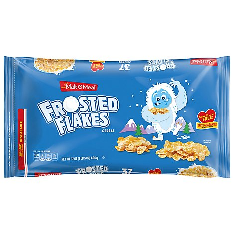 Malt-O-Meal Cereal Frosted Flakes Super Size - 37 Oz