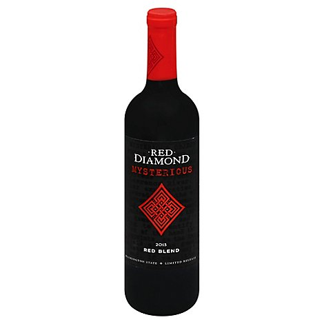 Red Diamond Mysterious Red Blend Wine - 750 Ml