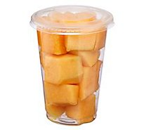 Fresh Cut Cantaloupe Cup - 8 Oz