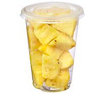 Fresh Cut Fruit Cup Pineapple Cup - 8 Oz (200 Cal)