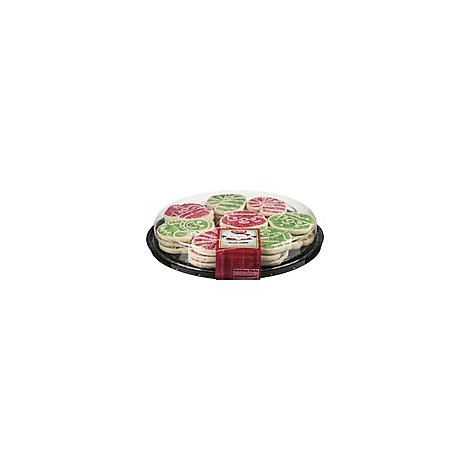 Bakery Cookie Party Platter Kids Holiday - Each