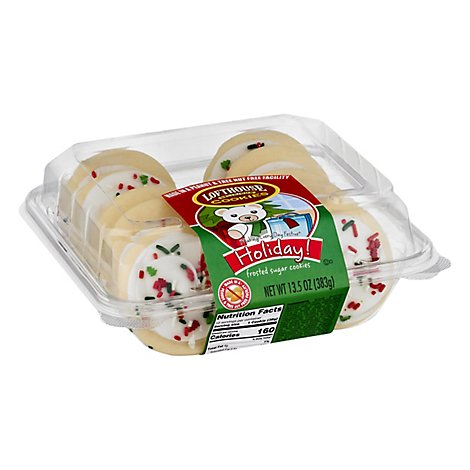 Bakery Cookies Frosted Sugar White Holiday - 13.5 Oz