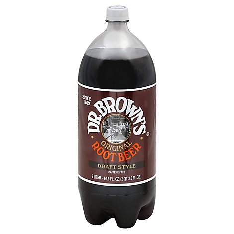 Dr Brown Soda Root Beer - 2 Liter