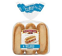 Pepperidge Farm Rolls Soft Hoagie - 14.5 Oz