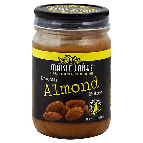 Maisie Janes Almond Butter Smooth - 12 Oz