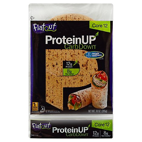 Flatout Flatbread Protein Up Core12 - 10 Oz