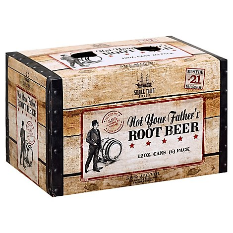 Not Your Fathers Root Beer In Cans - 6-12 Fl. Oz.