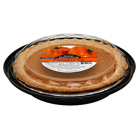 Jessie Lord Bakery Pie 8 Inch Pumpkin No Sugar Added - Each