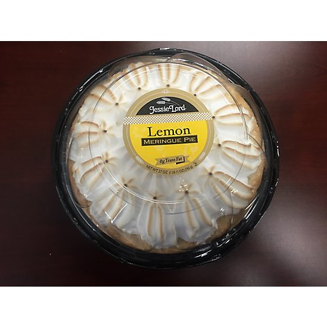 Jessie Lord Pie 8 Inch Lemon Meringue - 27 Oz