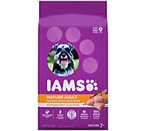 IAMS Proactive Health Dog Food Mature Adult Dry With Real Chicken - 7 Lb