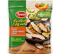 Tyson Grilled & Ready Chicken Strips Fajita - 22 Oz