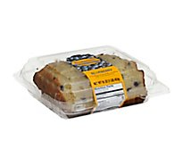Fresh Baked CSM Blueberry Slice Loaf Cake - Each