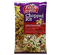 Fresh Express Salad Kit Chopped Southwest Greek Yogurt - 9.1 Oz